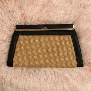 Black & Tan Clutch